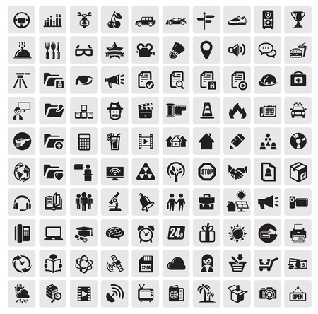 home group: 100 web icons