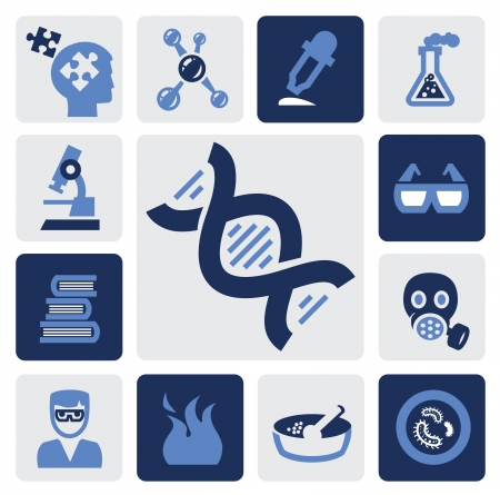 science icon Stock Vector - 16135422