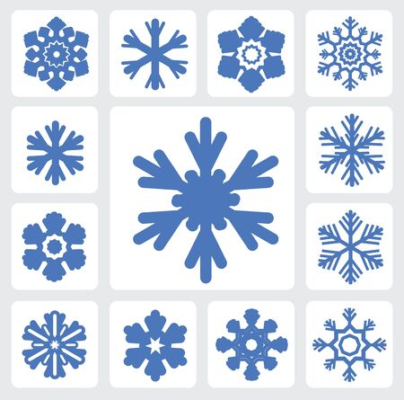 Snowflakes icon Stock Vector - 16135423