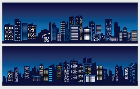 night city Stock Vector - 16359123