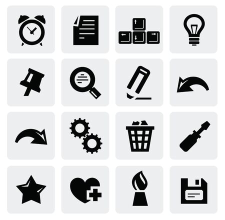web icons Stock Vector - 16690971