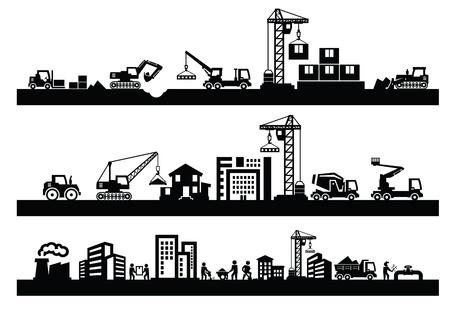 Ikony budowlanych