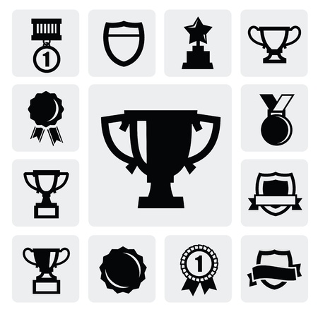 rewards: trophy and awards