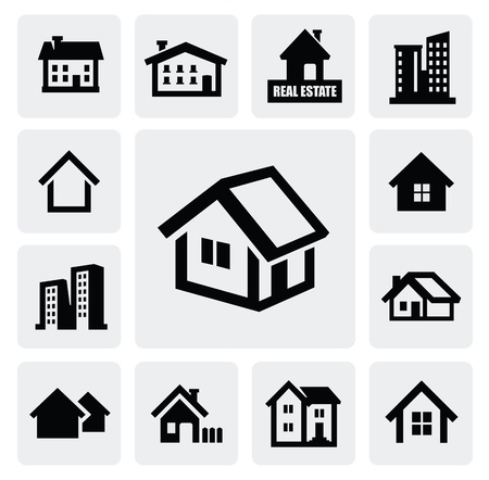real estate set Stock Vector - 16873204