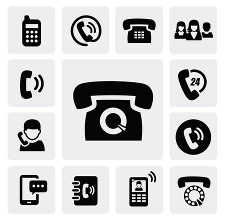 phone icons Stock Vector - 16891657