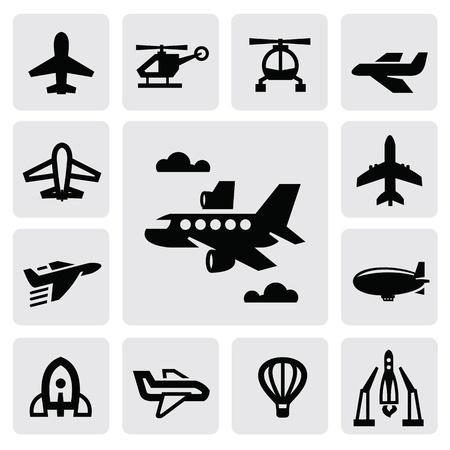 avion caricatura: avi�n icono