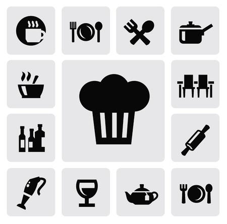 menu tool: kitchen icons