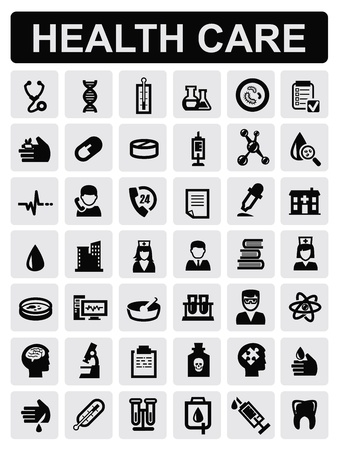 medical cross symbol: medical icons