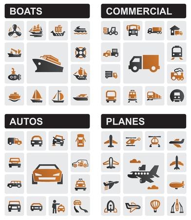 otomotiv: ulaşım simgeleri Çizim