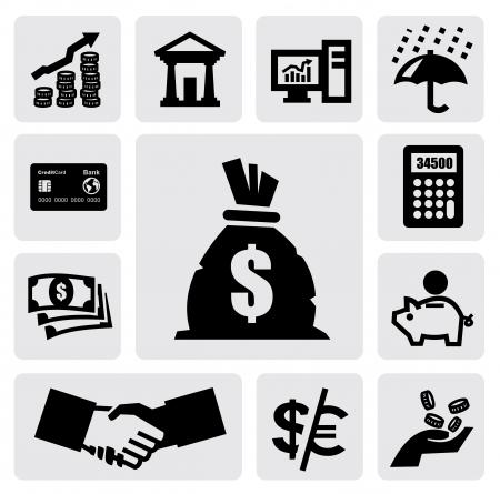 ahorros: Iconos Finanzas