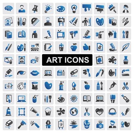 Icone d'arte impostare