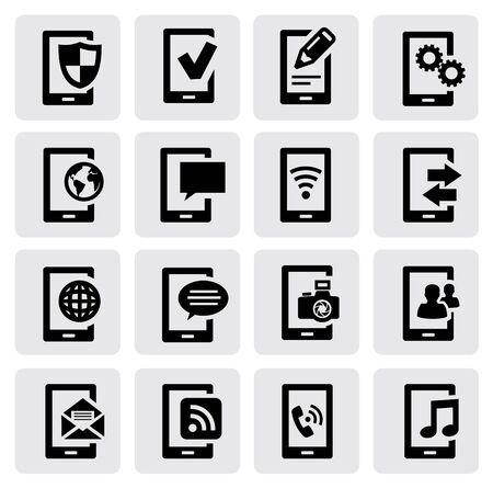 e systems: mobile phone Illustration