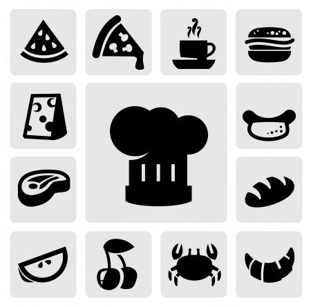 button mushroom: food icons