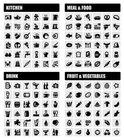 beverage, food, kitchen icons