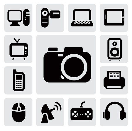 electronic devices Stock Vector - 17315448