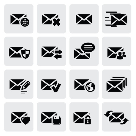 posts: email icons