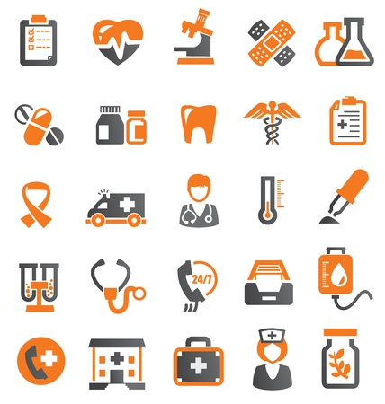 emergencia medica: Iconos m�dicos
