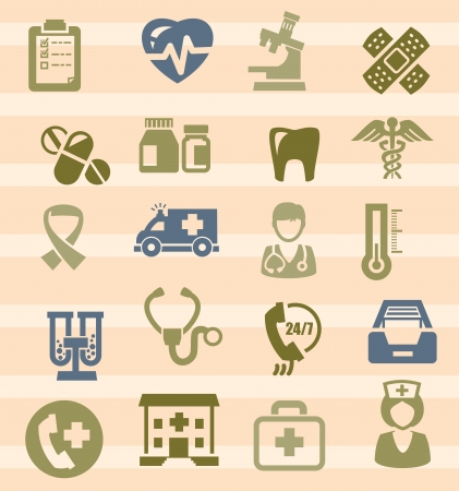 medical icons Stock Vector - 17388241