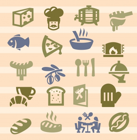 kitchen icons Stock Vector - 17379589