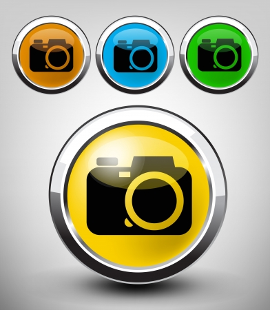 camera icon Stock Vector - 17467431