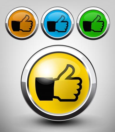 like icon Stock Vector - 17467430