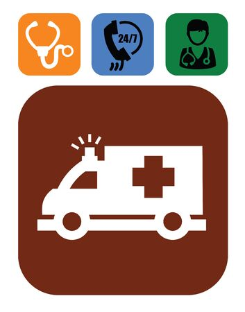medical icons Stock Vector - 17525009