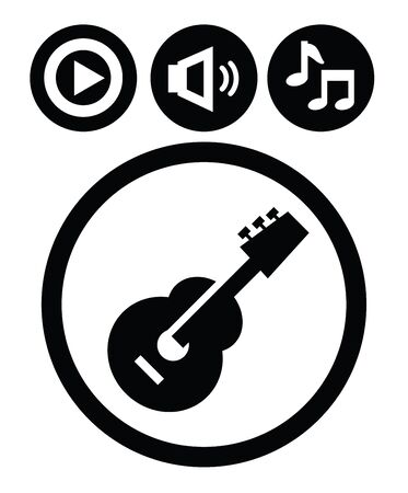 bass guitar: sound icons