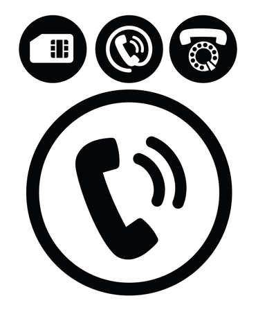 phone icon: phone icons