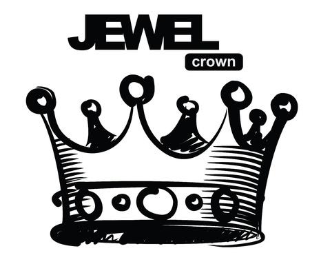 king crown: black crown