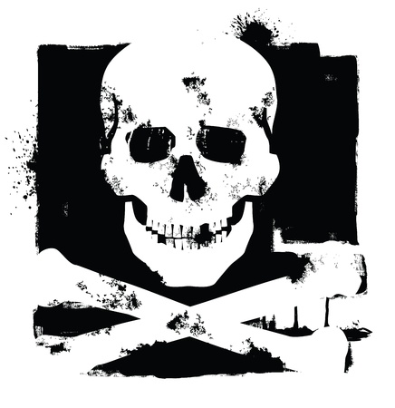 skull and crossbones: skull icon