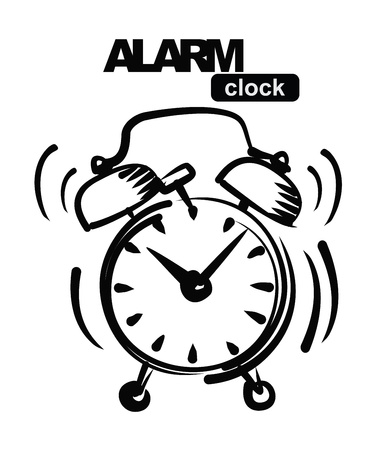 wake: alarm clock