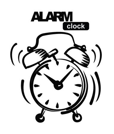 antique clock: alarm clock
