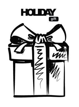 giftboxes: black gift