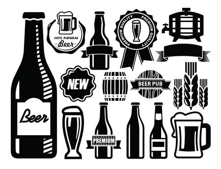 botellas de cerveza: cerveza icono