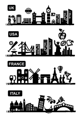 travel icons Stock Vector - 17667081