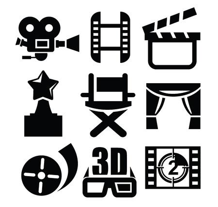 movie icon Stock Vector - 17665445