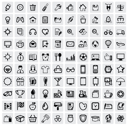 hyperlink: web icons