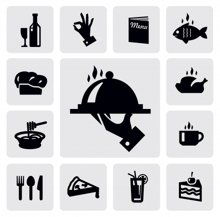 food to eat: food icons