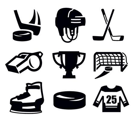 hockey sobre hielo: hockey icono