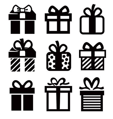 regalo icono