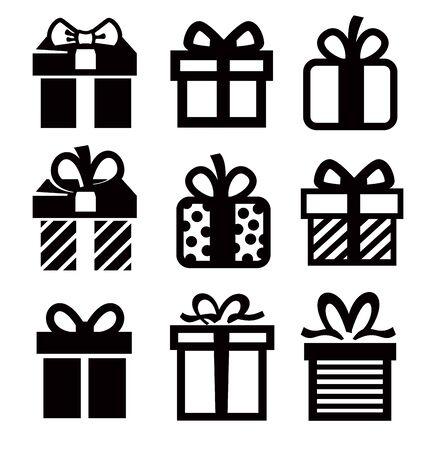 dar un regalo: regalo icono