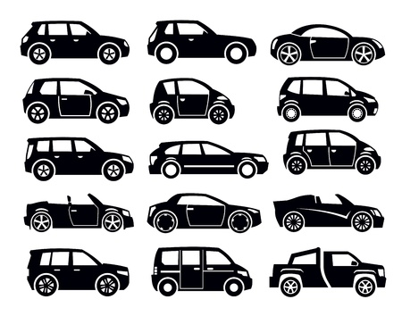 automobile industry: auto icon Illustration