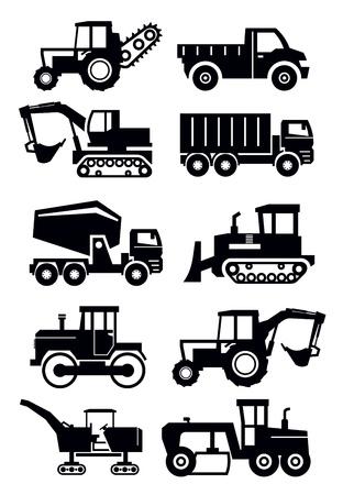 motor de carro: construcción transporte Vectores