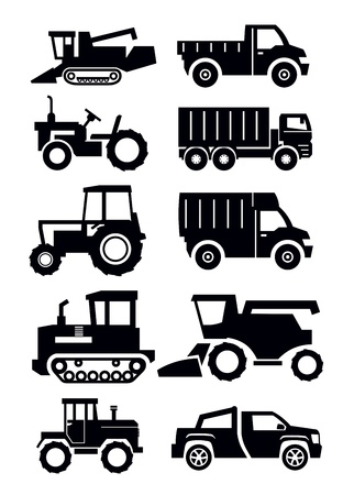 agricultural transport Vector