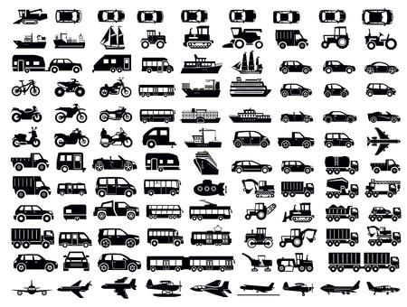 camioneta pick up: transporte icono