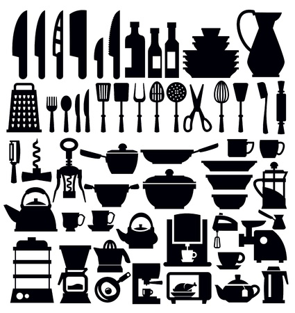 pans: kitchen tool Illustration