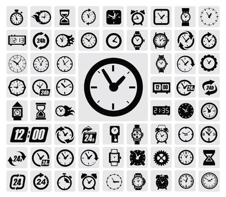 despertador: relojes icono