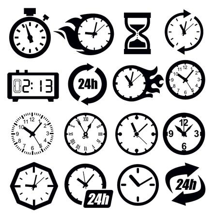 clock icon: clocks icon