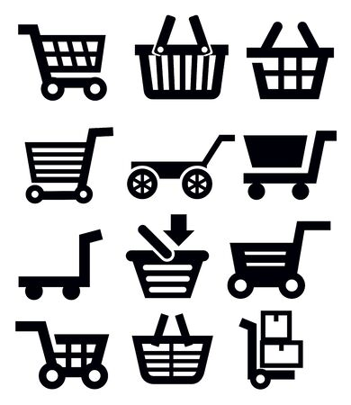 shopping cart Stock Vector - 18902687