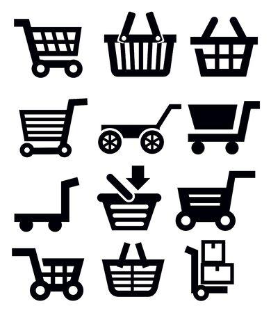 shopping cart Stock Vector - 18902687